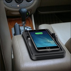 CARGADOR INALAMBRICO / Qi Car Wireless Fast Charger