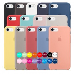 ESTUCHE SILICON IPHONE 7/8