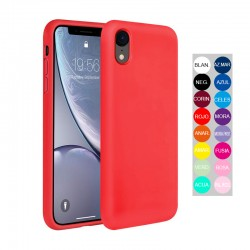 ESTUCHE SILICON IPHONE XR