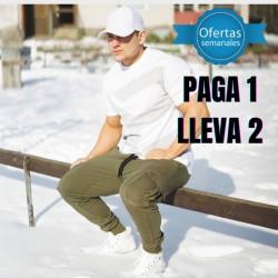 JOGGER ENTRENAMIENTO VERDE OLIVO HPA08